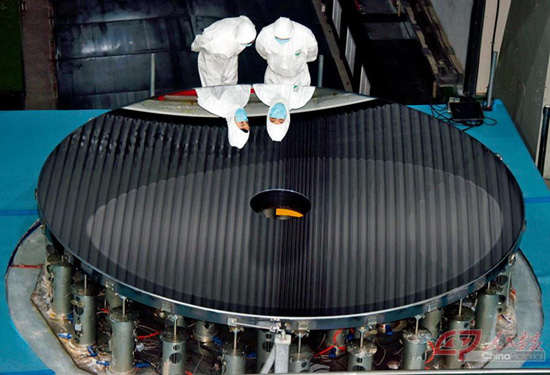 China Successfully Developed The World's Largest Diameter Monolithic Silicon Carbide Mirror